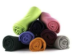 50 x 60 Inch Ultra Soft Fleece Throw Blanket Wholesale Case