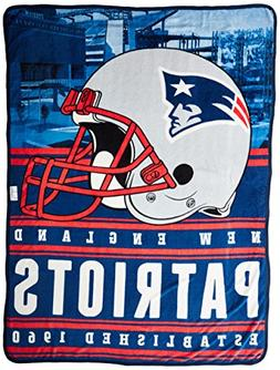 Northwest Officially Licensed NFL New England Patriots Stack