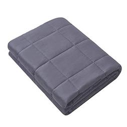 Weighted Idea Cotton Weighted Blanket   15 lbs   60''x80''  