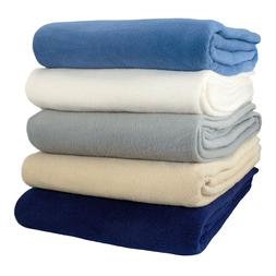 Alta Fleece Blanket- Medium weight  Anti-Pill