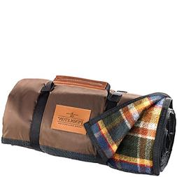Pendleton Roll Up Wool Blanket, Black, One Size