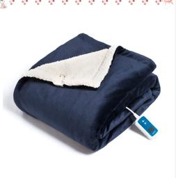 Bedsure Washable Electric Heated Blanket Throw, 50x60 inches