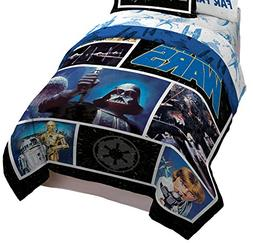 Star Wars Classic Logo Twin/Full Comforter - Super Soft Kids
