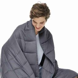 Cooling Weighted Blanket for Adults - 100% Cotton Material w