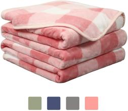EASELAND Soft Blanket Warm Fuzzy Microplush Lightweight Ther