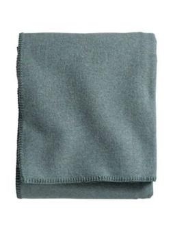 Pendleton Eco-Wise Easy Care Blanket, Queen, Shale Blue