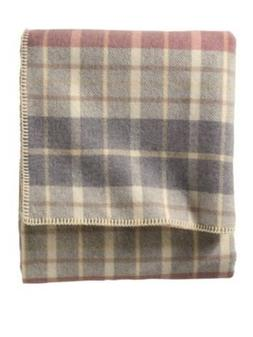 Pendleton Eco-Wise Wool Washable Twin Blanket, Blush/Grey Pl