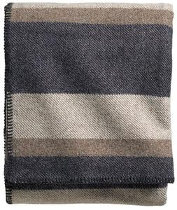 Pendleton Eco-Wise Easy Care Blanket, King, Midnight Navy St
