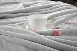 Fleece Thermal Blanket Soft Warm Cozy Plush Throw For Bed So