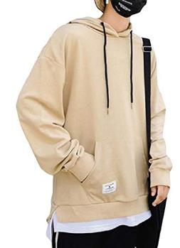 Freely Men's Solid Fake Two Relaxed-Fit Leisure Pullover Swe