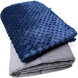 Gravitia Weighted Blanket for Kids 5 Pounds - Calming Comfor