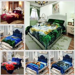 Heavy Thick Ultra Warm Soft Plush Bed Blanket For Winter,Kin