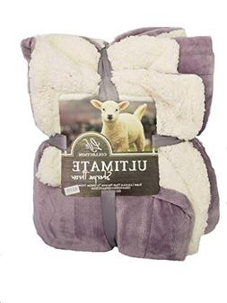 Empire Home Sherpa Fur Thick Super Soft Winter Blanket