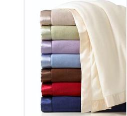 Charter Club Home Soft Fleece Full/Queen Blanket Taupe
