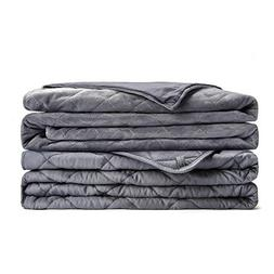 L'AGRATY Weighted Blanket for Adults with Removable Cover  |