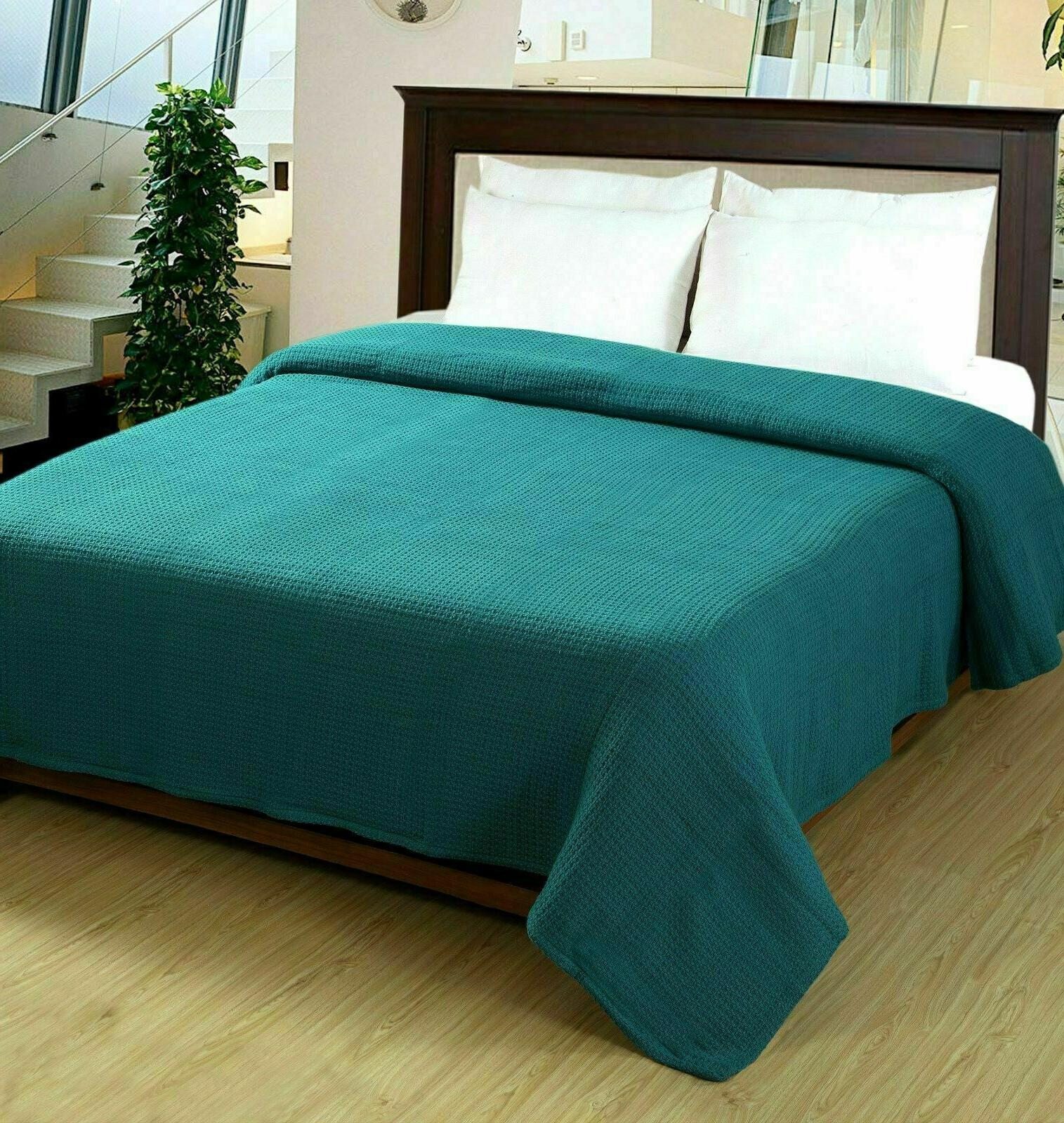 100% Soft Thermal Blanket Lightweight Comfortable Cozy Warm