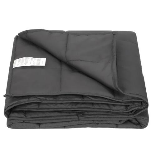 """Weighted Blanket Twin Size Calm Down 48 x 72"""" Full Twin Size"""