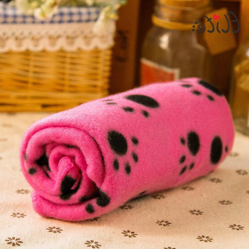 comfortable pet pink blanket for cat dog