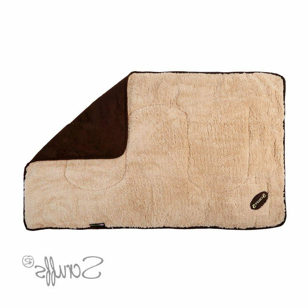 Scruffs Dog Snuggle Reversible Day Faux Suede Day