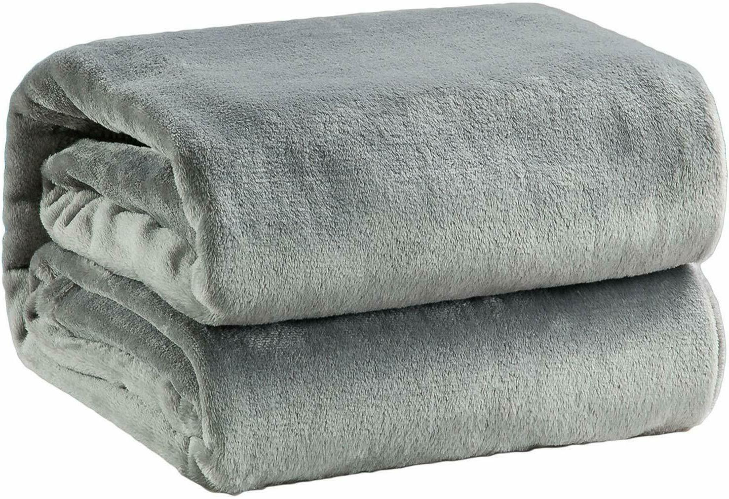 Fleece Polyester Fabric GSM Twin Queen Size