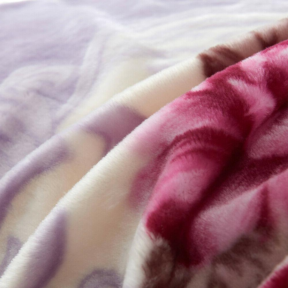 Korean Ply Thick Blanket Super Queen Size 5