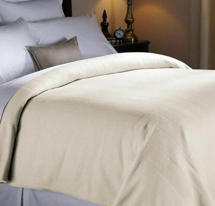Queen Electric Heated Fleece Extra Washable Hot Home