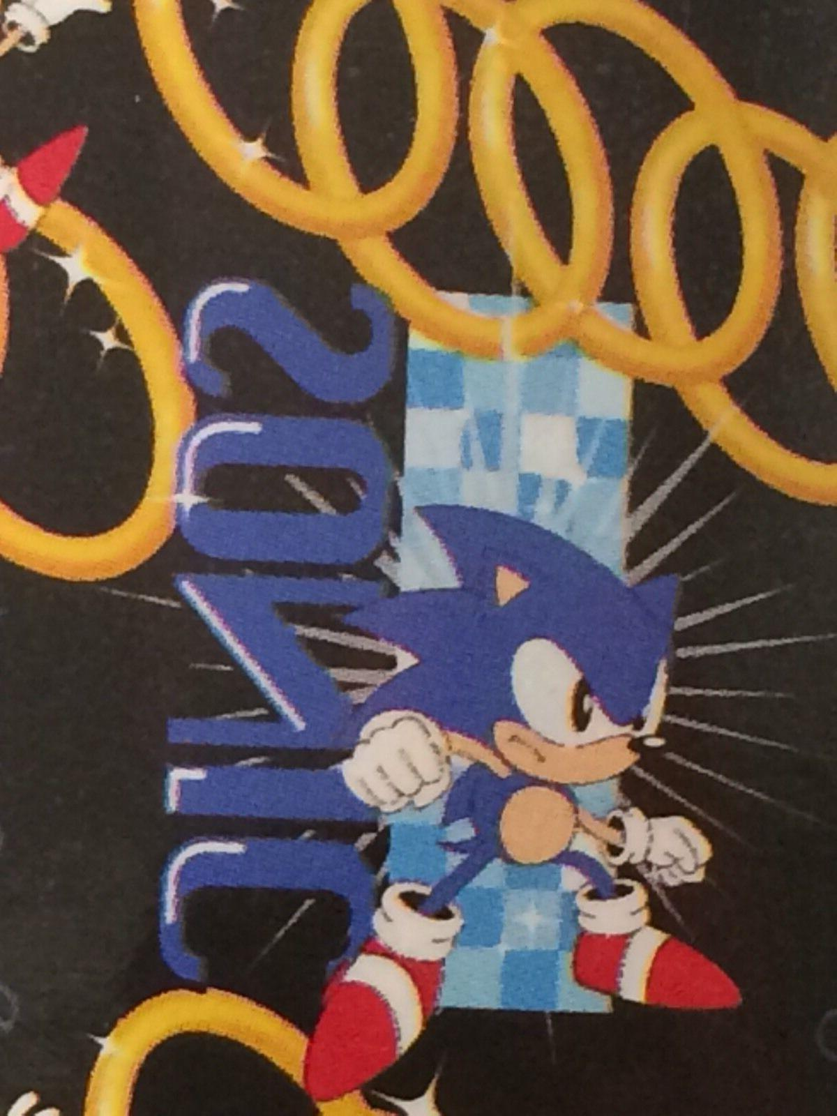 Sonic The Hedgehog Sega Video Game Black  Ring Repeater  Fle