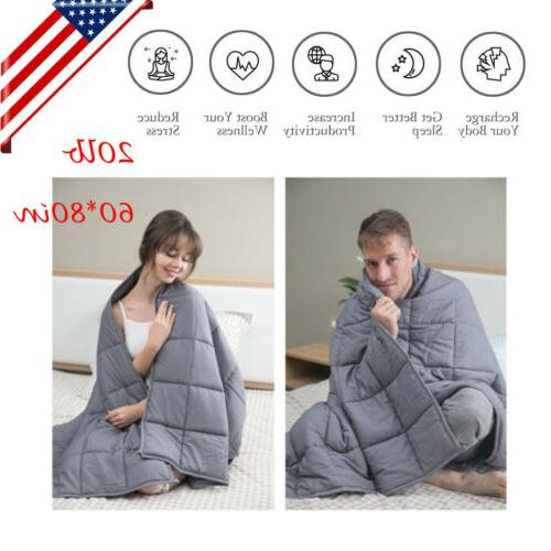 us home weighted blanket for adults reduce
