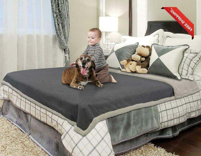 Waterproof Blanket,Pee Proof Couch Sofa Bed Protector Cover