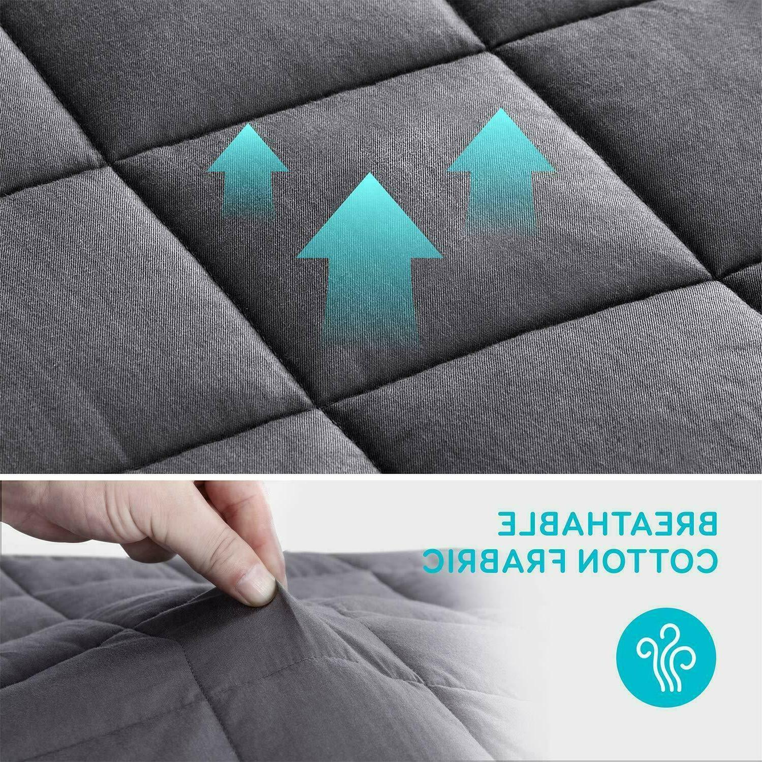 Weighted Blanket Cotton Heavy Blanket for with