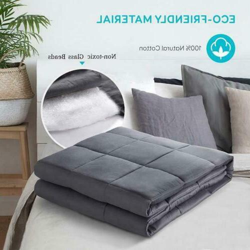Weighted Blanket Cotton Heavy Blanket with