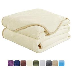 EASELAND Soft Queen Size Blanket All Season Winter Warm Fuzz