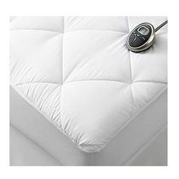Sunbeam Premium Luxury Quilted Electric Heated Mattress Pad