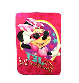 The Northwest Company Minnie Mouse Jet Setter Fleece Charact