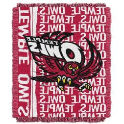 The Northwest Company NCAA Temple Owls Double Play Jacquard