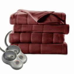 NEW Jarden BSF9GKS-R310-13A00 Quilted Fleece Heated Blanket