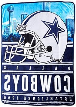 Northwest Officially Licensed NFL Dallas Cowboys Stacked Sil