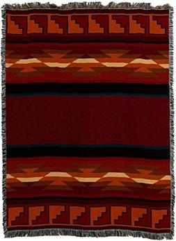 Pure Country Weavers - Pasqual Woven Blanket   Southwest Geo