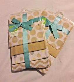 Personalized Luvable Friends Flannel 4 Piece Receiving Blank