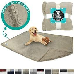 PetAmi Bed Blankets Deluxe Dog For Couch Puppy Large Dogs Re