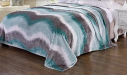 Printed Bed Blanket Microplush™ Picasso Design Ultra Soft
