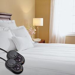 Sunbeam Heated Mattress Pad   Quilted, 10 Heat Settings, Que