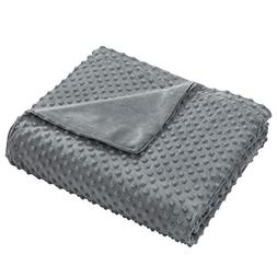 """joybest Removable Duvet Cover for Weighted Blanket 48"""" x 72"""""""