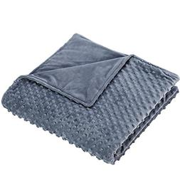 Anjee Removable Duvet Cover for Weighted Blankets, Luxury Be