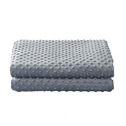 WUCHT Removable Duvet Cover for Weighted Blanket - Grey - Su
