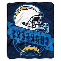 Northwest Company San Diego Chargers Grand Stand Plush Throw