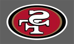 San Francisco 49ers 2 PACK NFL Decal Sticker - You Choose Si