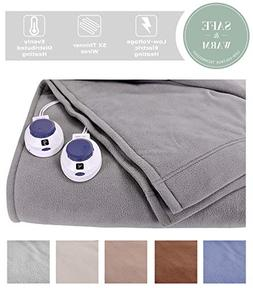 SoftHeat by Perfect Fit | Luxury Fleece Electric Heated Blan