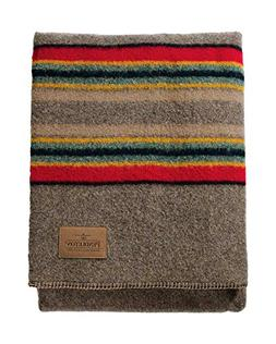 Pendleton Twin Camp Blanket without Carrier Mineral Umber, N