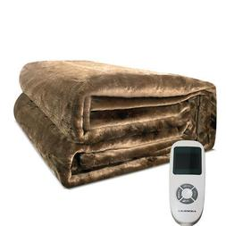 Warm Bed Cozy Bedding Heater Plush Electric Heated Blanket M